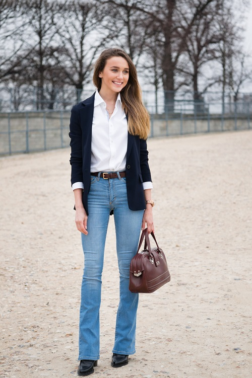 1 style jeans to look slimmer