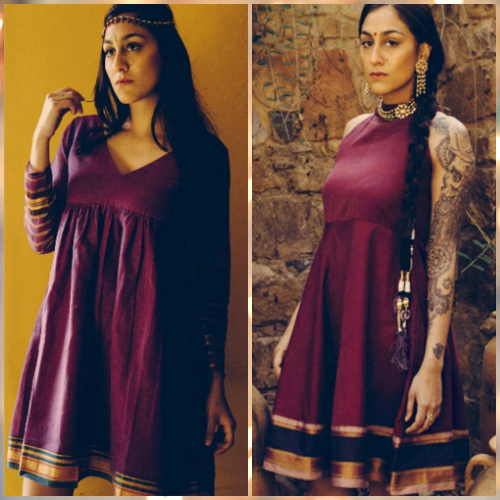 2 new outfits from silk sarees