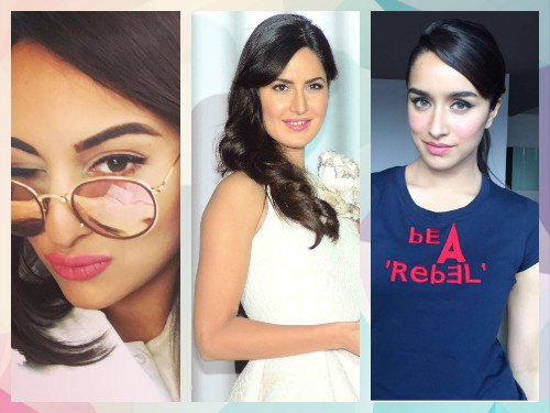 5 lip colours of bollywood