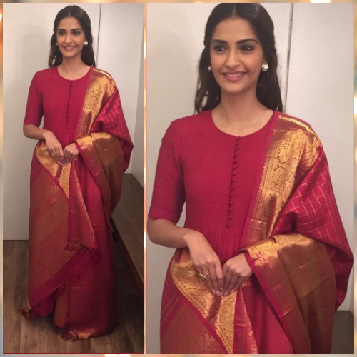 5 new outfits from silk sarees