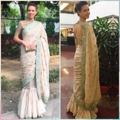 5 saree styles to look slimmer