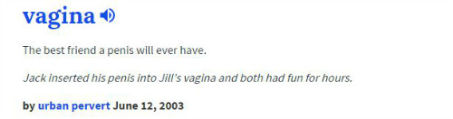 6 Urban Dictionary definitions