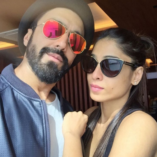 ashish chowdhry and his wife