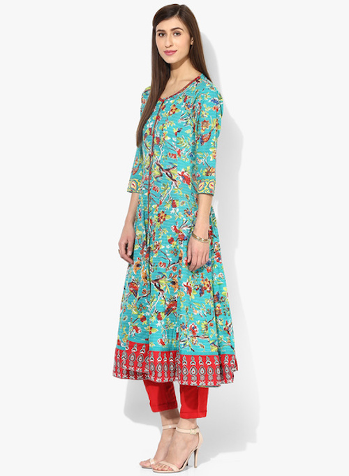 4 how to style long kurtas if you are short