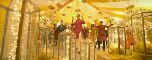 5b bollywood inspired wedding decor
