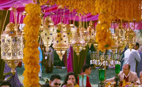 5c bollywood inspired wedding decor