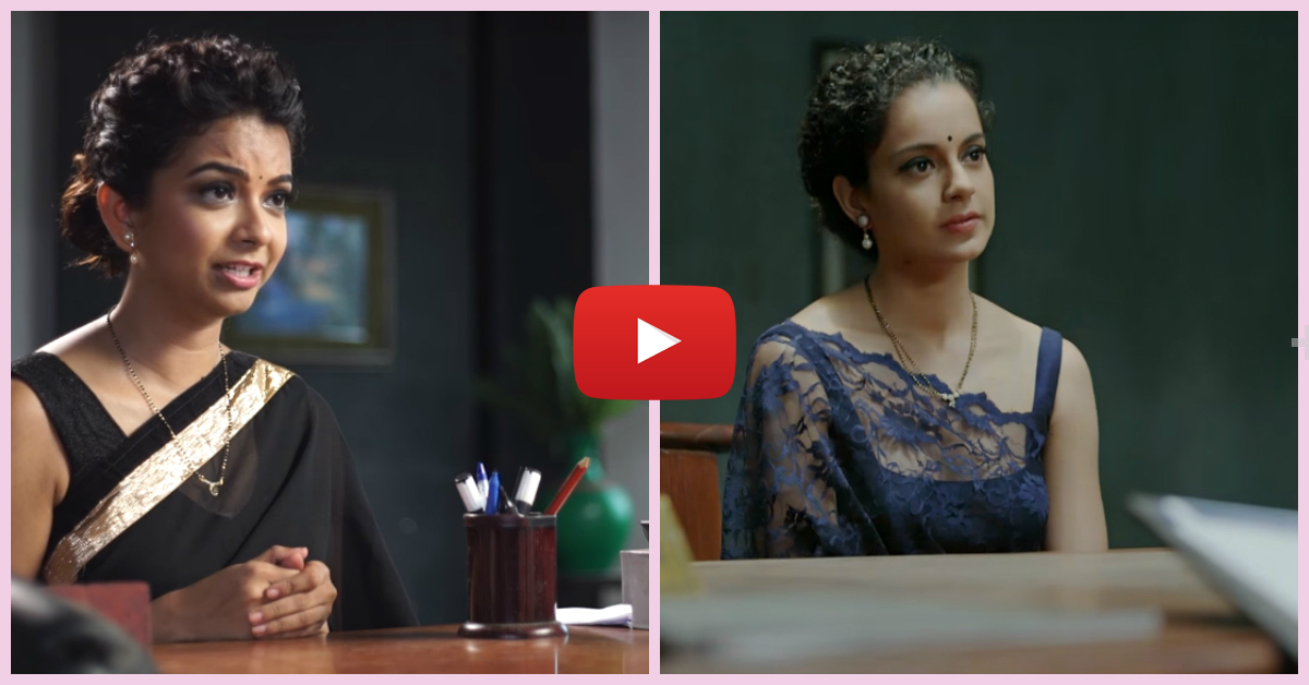 Monica Murthy Imitates Kangana Ranaut - This Is Just Brilliant!