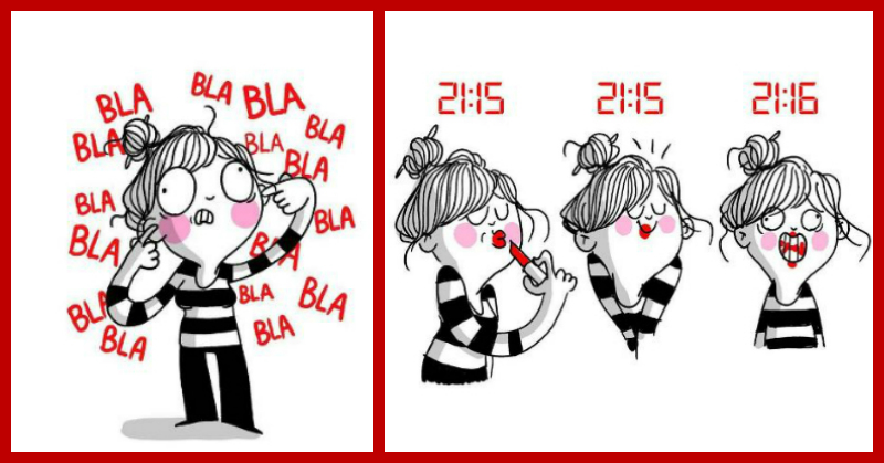 7 Super Cute Doodles That Sum Up A Girl's Life... Perfectly!!