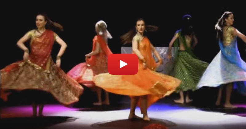 "This Dance Performance On ""Nagada Sang Dhol"" Is Simply STUNNING!"