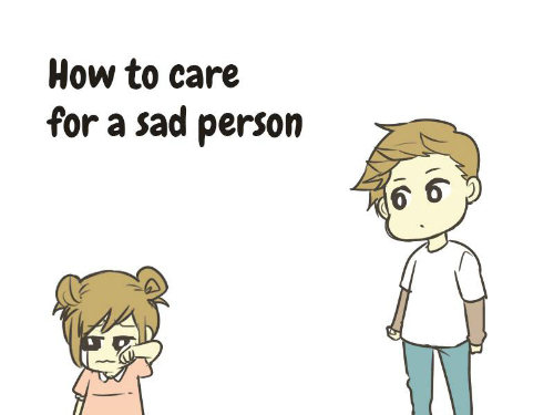 how to make a sad person happy 1