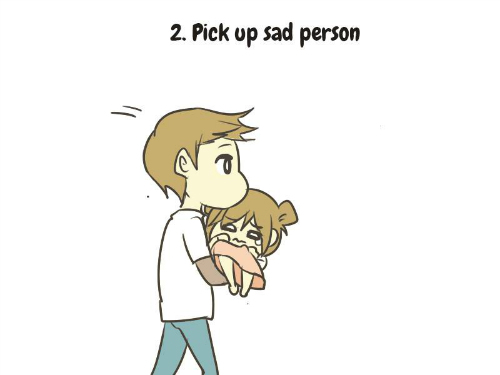 how to make a sad person happy 3