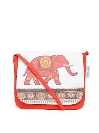 1 traditional printed bags