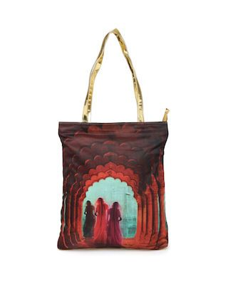 12 traditional printed bags