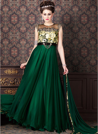 13 anarkali gowns