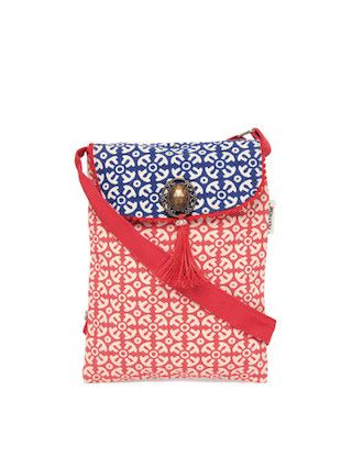 2 traditional printed bags