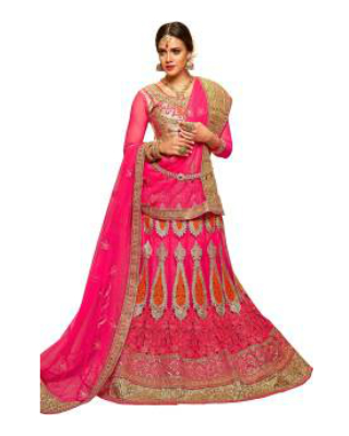 2 wedding lehengas