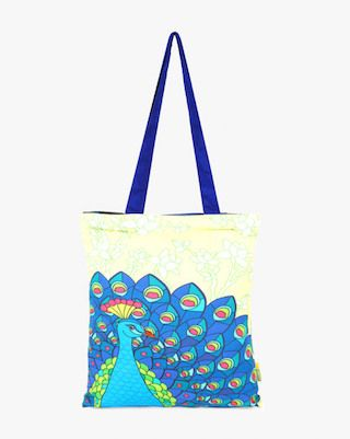 5 traditional printed bags