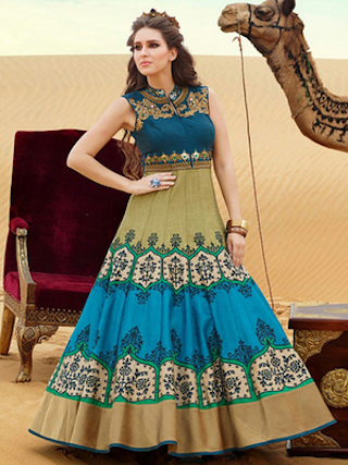 6 anarkali gowns