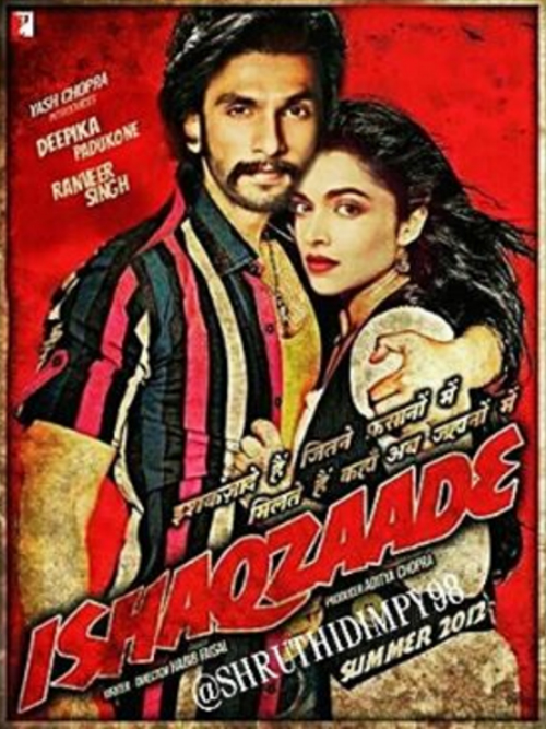 6 posters of deepika and ranveer
