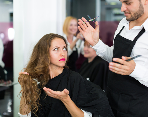 7 things not to do during a haircut