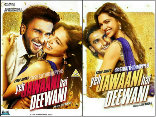 8 posters of deepika and ranveer
