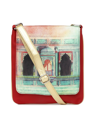 8 traditional printed bags