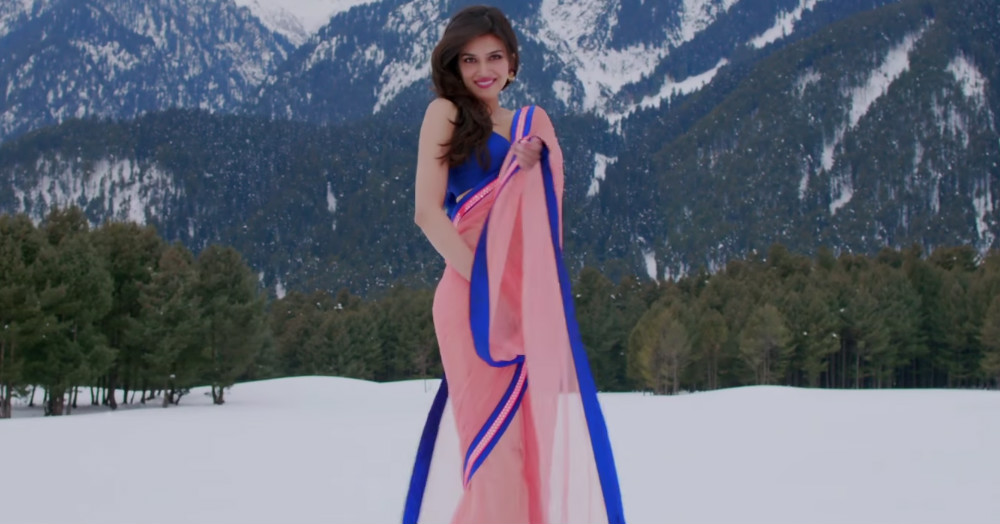 15 Unique Ways To Slay Saree With Top Style!