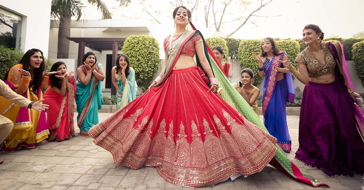 7 Brides Who Wore The Most Gorgeous Red Lehengas - We LOVE!