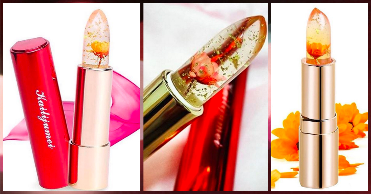 This Flower-Infused Lipstick Will Be Your New Beauty Obsession!