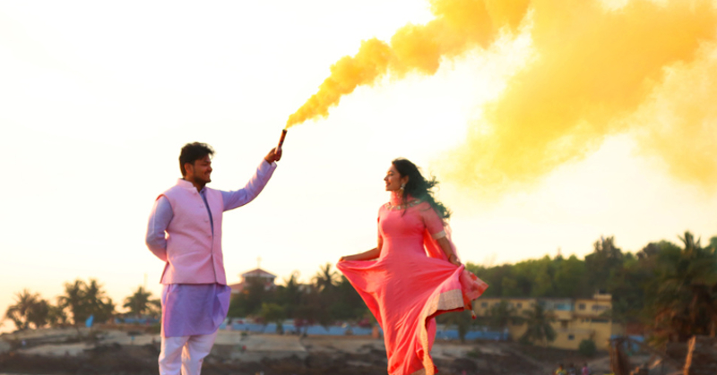 Here's How To Add A Touch Of MAGIC To Your Pre-Wedding Shoot!