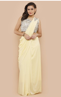 Sequin-pre-drapped-saree