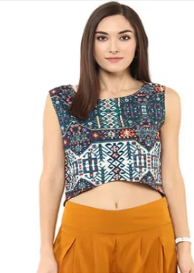 indie-twist-crop-top-for-lehenga