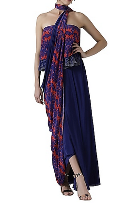 navy-blue-pre-drapped-saree