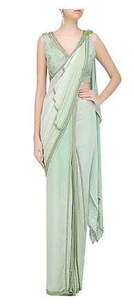 perfect-pastel-pre-drapped-saree