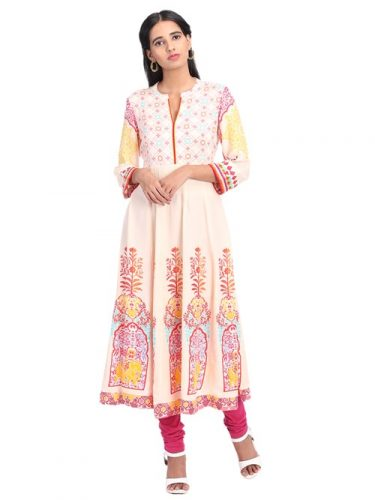 rangriti-off-white-kalidar-printed-kurta-best-kurta-brands
