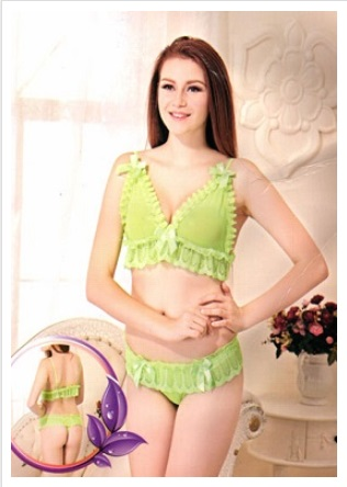 romantic-silky-soft-neon-green-lingerie-set-lingerie-for-honeymoon
