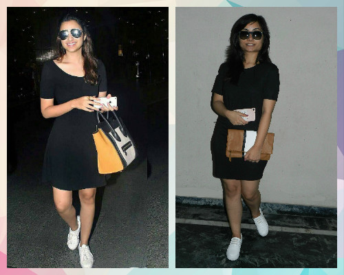 2 celebrity outfits