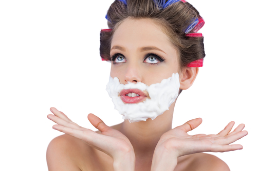 3. should women shave their face