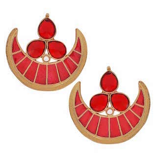 4 chand baali earrings