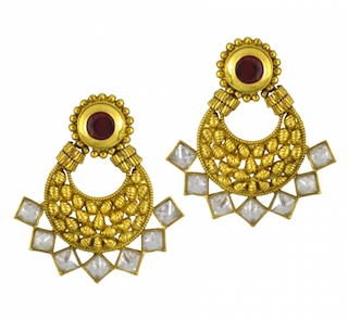 8 chand baali earrings