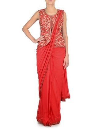 8 red sarees for the bride to be