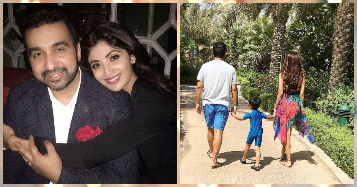 Shilpa Celebrated Raj's Birthday & Their Pics Are SO Adorable!