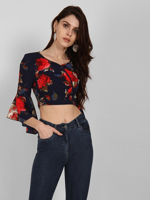 Floral-perfection-top-to-wear-with-skirt
