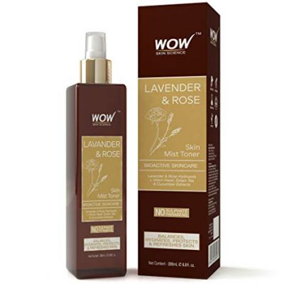 WOW Lavender and Rose Skin Mist Toner