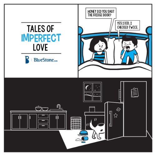 3 funny comics about love