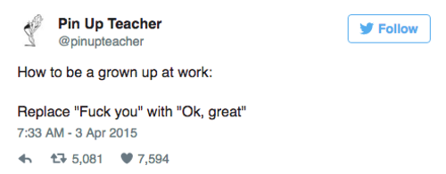 2 tweets about adulthood