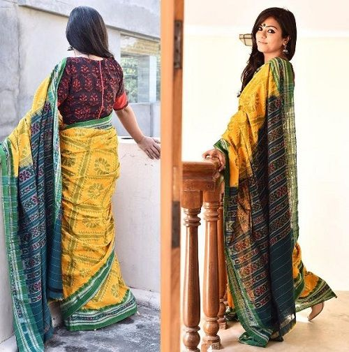 4 types of sarees in india