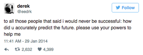 4 tweets about adulthood