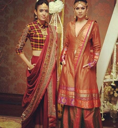 6 types of sarees in india