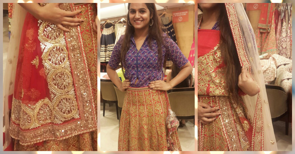 #ShaadiDiaries: What I Learnt From My Bridal Lehenga Fitting!